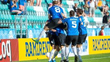 КАК ЭТО БЫЛО | Эстония уступила Уэльсу в домашнем матче