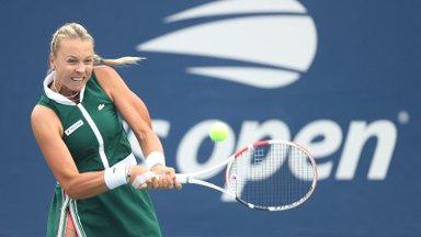 Анетт Контавейт вышла в третий круг US Open!