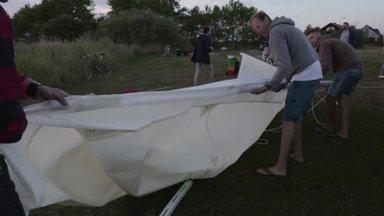 VIDEO | Hulljulge ettevõtmine – Eesti katamaraan kihutas mööda maad Vahemerele maailma parandama