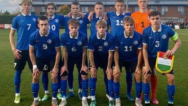 Eesti jalgpallinoored kaotasid EM-valiksarjas hõimuvendadele