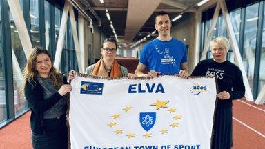 Elva pälvis Euroopa parima spordilinna tiitli