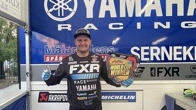 Ajalugu teinud Eesti motosportlane võitis MK-tiitli