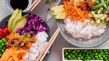 Kogu pere õhtusöögihitt – poké -kauss! Hea ja värviline ning täpselt nii tervislik, kui ise soovid!