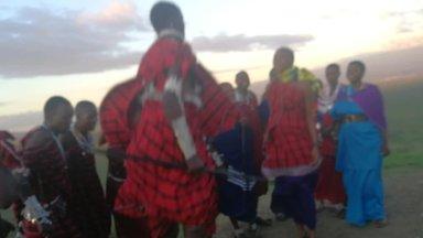 Maasai hüppetants