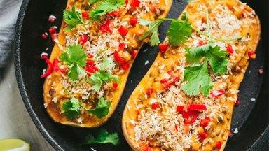 Täistaimsed õhtusöögiideed | Seitse värvilist veganretsepti sumedateks sügisõhtuteks
