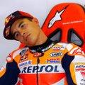 VIDEO | Käeluumurru järel kiirelt võistlustulle naasnud Marc Marquez pidi siiski valule alla vanduma