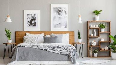 Häid nippe, kuidas pisike magamistuba õige kujunduse abil avaramaks muuta