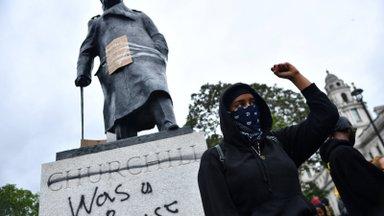 KUULA | USA-s alanud rassivaidlus kõigutab Euroopas monumente. Kas Churchill oli rassist?