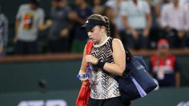 Ostapenko andis loobumisvõidu, Eesti - Läti duelli Moskva tenniseturniiril ei tule