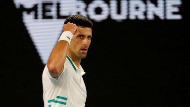 Kannapööre: vaktsineerimata mängijad võivad siiski Australian Openil platsile pääseda
