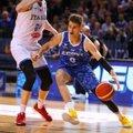 Eesti korvpallikoondis kuulub EM-finaalturniiril Itaaliaga ühte alagruppi