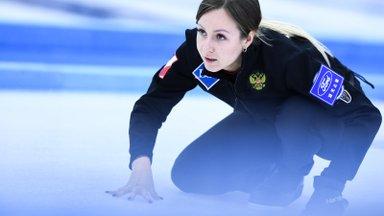 Девушка дня. Скип сборной России Алина Ковалева позирует в Таллинне и обыгрывает Эстонию