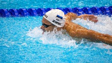 Suurepärases hoos Kregor Zirk ujus teist päeva järjest Dohas poodiumikohale